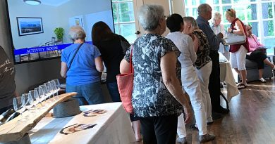 Around 80 people dropped by the Carp Commons Retirement Village over the weekend. Photo submitted