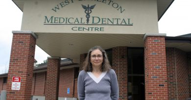 Family Health Team nurse Dianne Bramble is also, now, a published author. Photo by Jake Davies