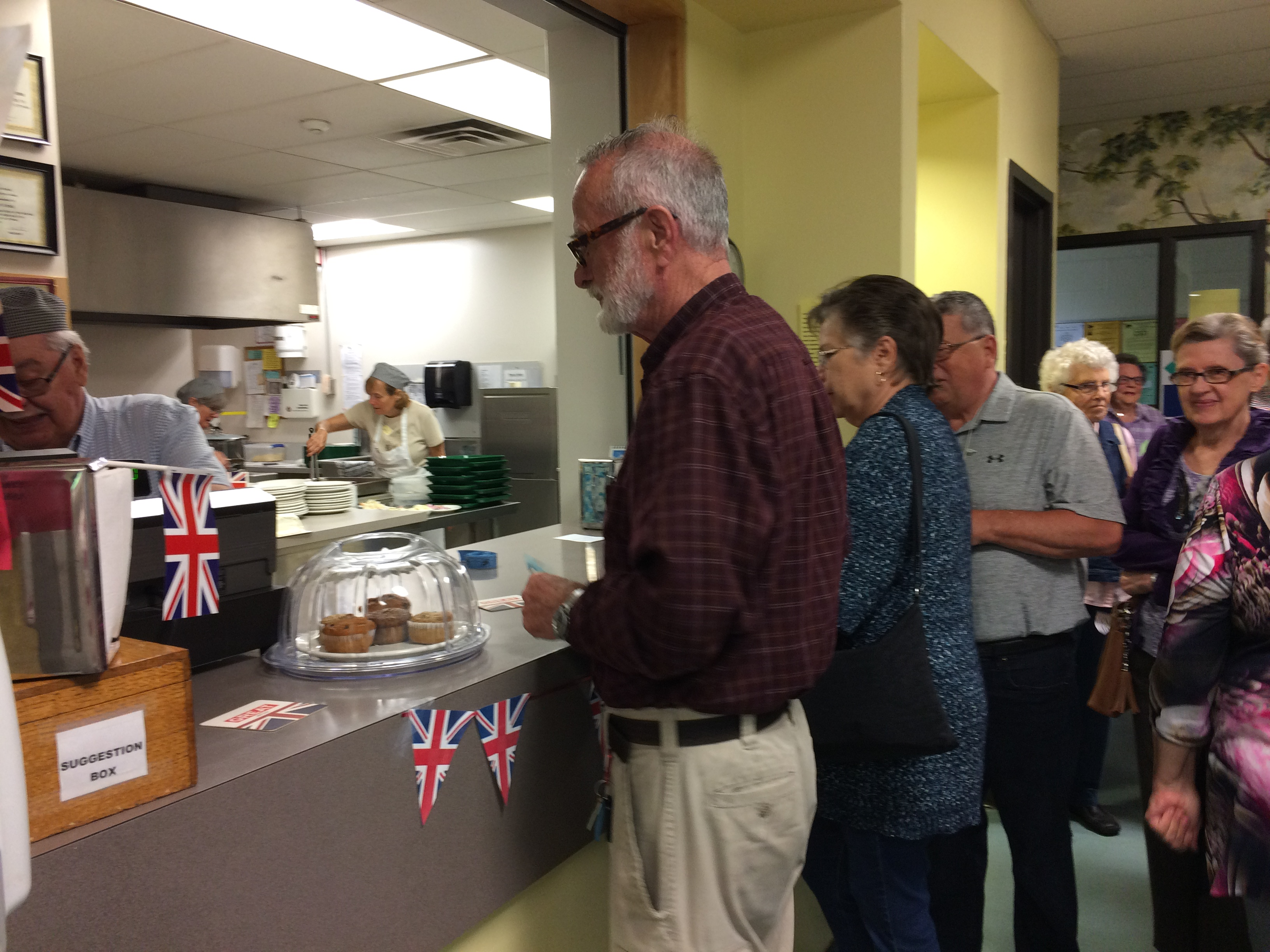 The Council Café provides inexpensive meals and an opportunity to socialize. Photo submitted