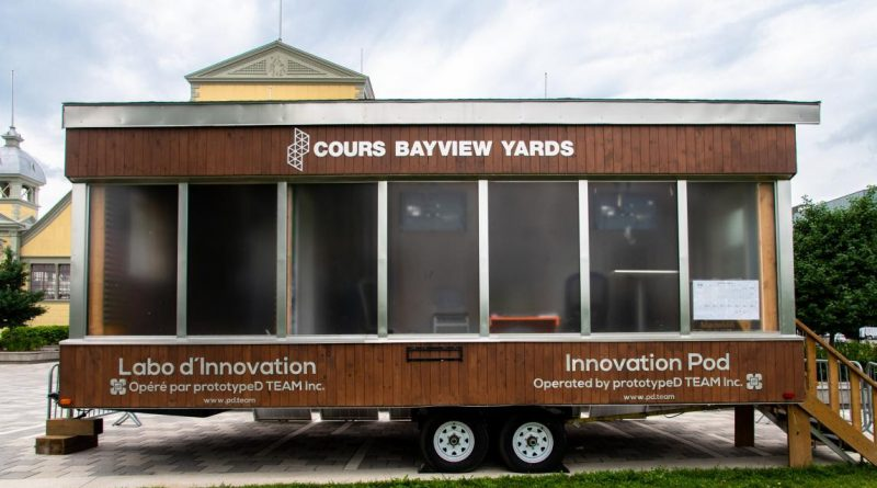 The innovation pod. Photo submitted