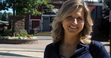 Justina McCaffrey, photographed in Carp last August, officially launches her campaign on Labour Day Photo by Jake Davies