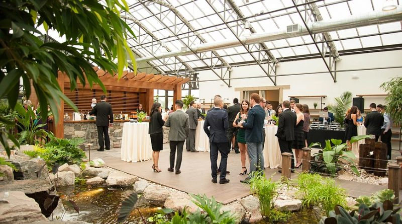 The Aquatopia Water Garden Conservatory is one of Ottawa's most popular wedding venues. Photo provided