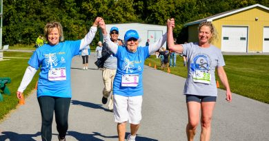 The fifth annual Mississippi Mills River Walk or Run (MMRWR) for Almonte Hospital on Saturday, Sept. 8 is shaping up to be the biggest and best yet with more than 220 participants already registered. Photo submitted