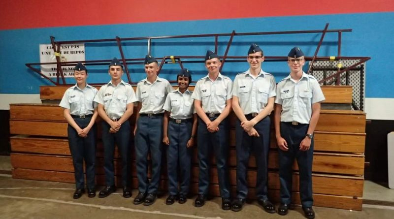 From left: WO2 Chen, WO1 Lopez-Espinosa, Flight Sergeant Menshikov, Flight Sergeant Dassanayake, WO2 Brooks, WO2 Nelson Flight Sergeant Aharony (missing WO2 Lejeune). Photo submitted