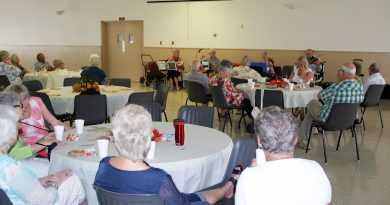Mainly Strings performs at the Kinburn and District Seniors Association meeting on Sept. 6. Photo by Jake Davies