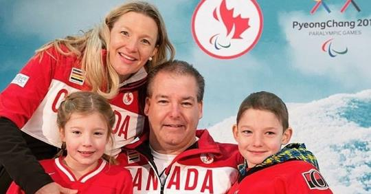 Todd Nicholson and his family. Photo courtesy of Facebook