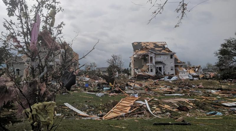 A tornado ripped through West Carleton on the last day of fall, reportedly damaging more than 60 homes and several businesses. Photo by Nicole Novotny