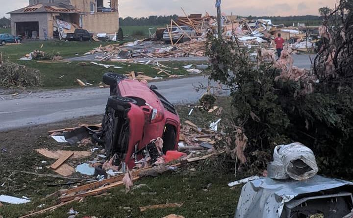 The WCDR was formed and started helping those affected by the Sept. 21 tornado almost before the dust had settled. File photo
