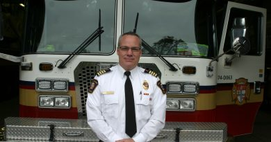 Newly appointed deputy chief of Rural Operations at Ottawa Fire Services, Todd Horricks. Photo by Jake Davies