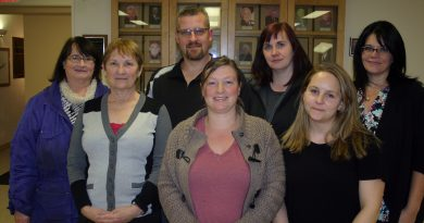 The new KCA board, from left, includes Maryjane Strelbisky, Karen Matt, Jamie Boisvert, Kerry Bradley, Laurie Chauvin, Danielle Stinson and Sandra Gray. Photo by Jake Davies