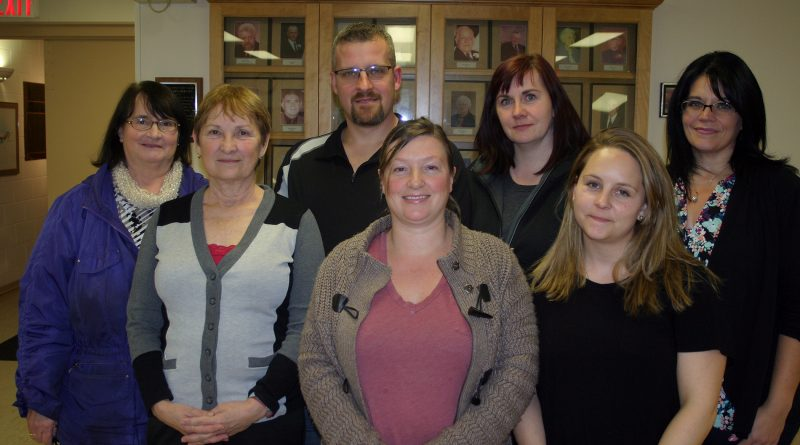 The new KCA board, from left, includes Maryjane Strelbisky, Karen Matt, Jamie Boisvert, Kerry Bradley, Laurie Chauvin, Danielle Stinson and Sandra Gray. Photo by Jake Davies