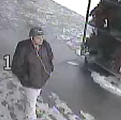 Police seeking this suspect. Photo submitted