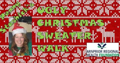 Break out the ugly sweater and raise some money for Arnprior Regional Health. Photo submitted