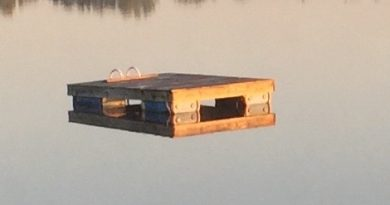 Have you seen this raft? Its owner misses it terribly. Photo submitted