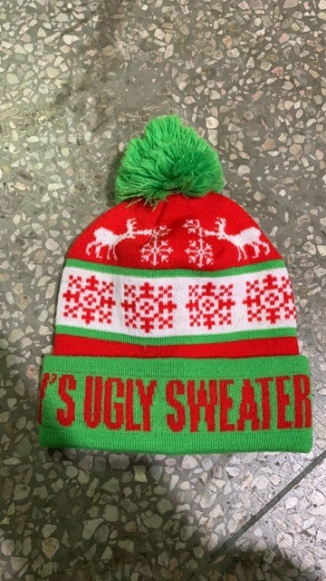 That's one sweet ugly toque. Photo submitted