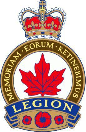 The West Carleton Royal Canadian Legion column.