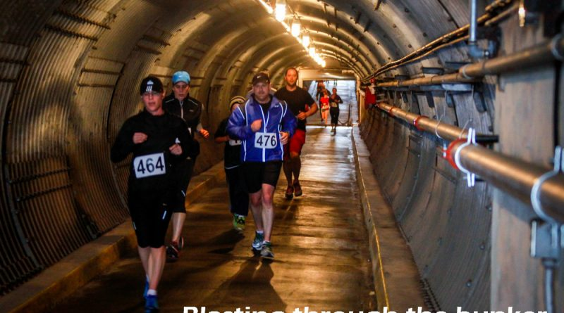 Running through the Diefenbunker blast tunnel is one of the highlight's of West Carleton's most popular running race. Photo courtesy Diefenbooker