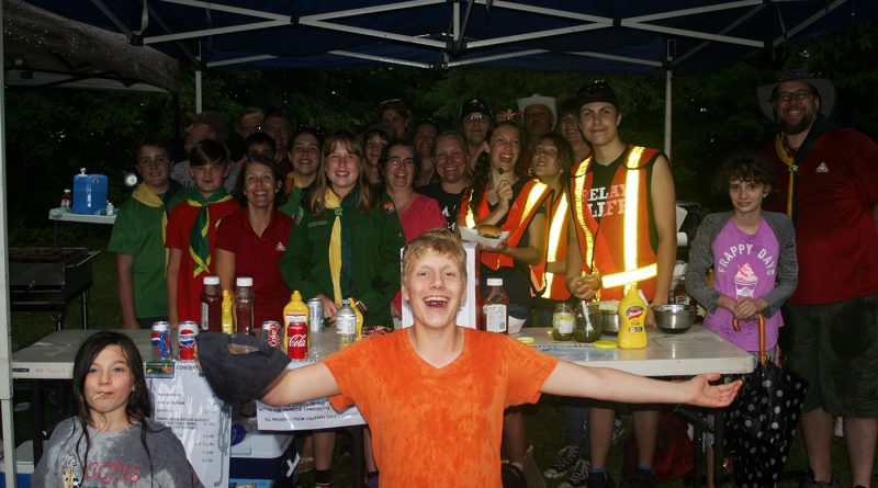 The West Carleton First Scouts hosted a barbecue last summer in Fitzroy Harbour. File photo by Jake Daves