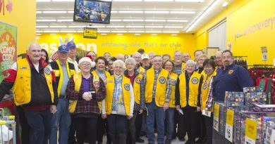 Stittsville's Lions Club helped make Christmas a little easier for families affected by the Sept. 21 tornado. Photo submitted