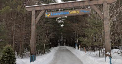 The Laurentian Valley Skating Trail is one of the Top 3 outdoor skating spots in Ontario. Photo courtesy Oldies 107.7 FM