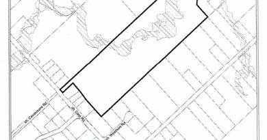The land inside the Carp Road Corridor that is subject to a re-zoning application. Courtesy the City of Ottawa