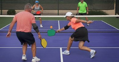 Lots of opportunity to play pickleball in Constance Bay this winter. File photo