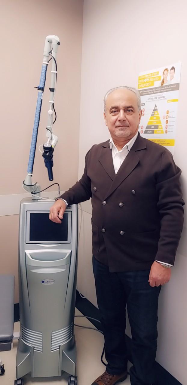 Dr. Bahaa Awwad. Courtesy AGH