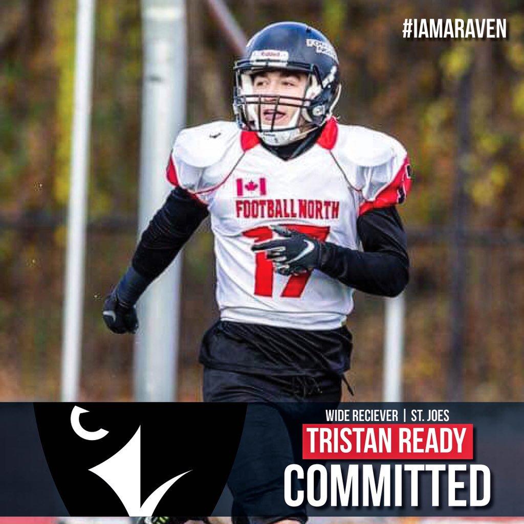 Former Wolverine Tristan Ready. Courtesy Carleton Raven's Twitter
