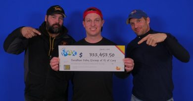 From left, Jonathan Daley and Brent Palsson of Carp and Stephen Johnson, of Woodlawn. Courtesy OLG