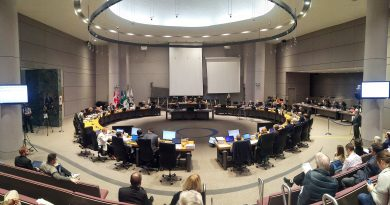 Ottawa council had a marathon session today (March 6) passing the 2019 budget and Phase 2 of the LRT. Photo by Jake Davies