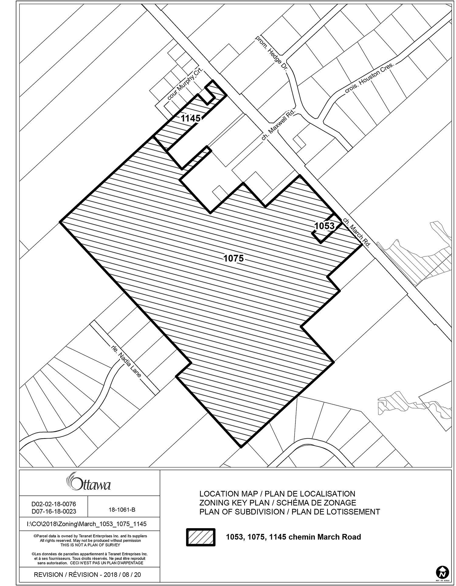 The west side development area (click the link at the bottom of the story for more information).