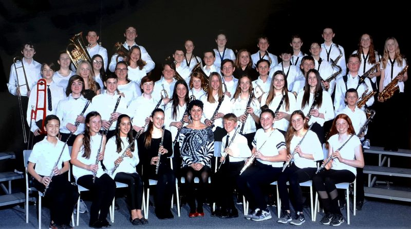 The Stonecrest Grade 7 and * Concert Band earned the Gold Standard at this year's MusicFest. Courtesy MusicFest