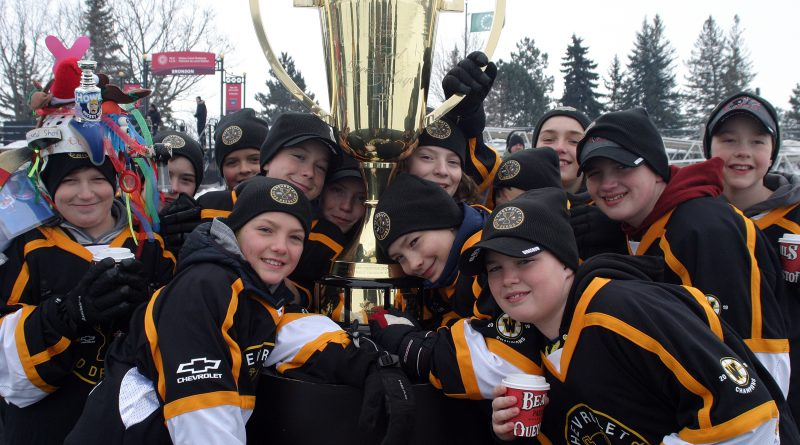 The Warriors earned $1100,000 for tornado relief in West Carleton after winning the Good Deeds Cup. Three of their stories made this month's Top 10. Photo by Jake Davies