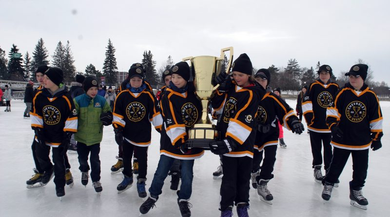 The West Carleton Warriors will be honoured in Carp on St. Patrick's Day. Photo by Jake Davies
