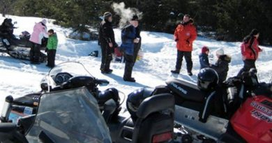 West Carleton snowmobile trails are closed for the season . Courtesy WCSTA