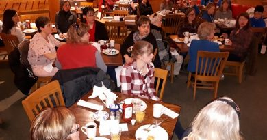 About 40 women attended the Women in Agriculture event in Renfrew on International Women's Day. Courtesy Oldies 107.7 FM