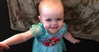 Mélia Payne passed away at the age of two after a lifelong battle with cancer. Courtesy Mélia's Memory Foundation