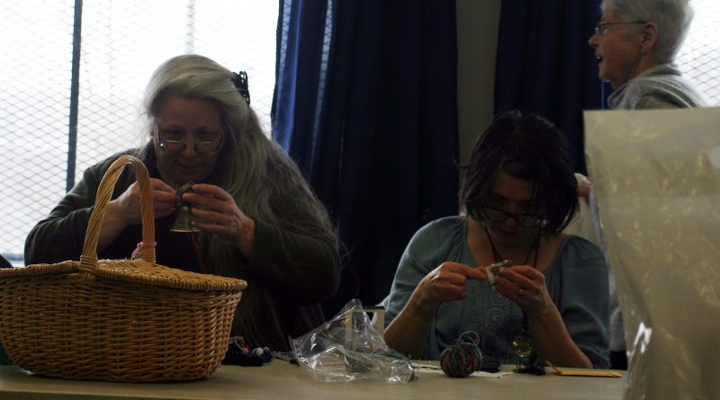 The West Carleton Fibre Guild celebrated 30 years earlier this week doing what they love to do. Photo by Jake Davies