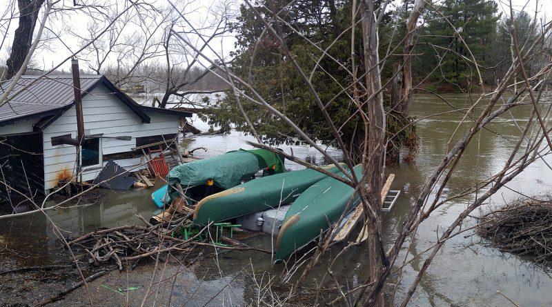 Residents at risk of flood damage can register with the city for pre and post help. Photo by Jake Davies