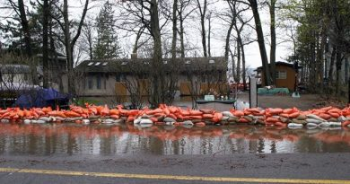 The city has several spots in West Carleton where sandbags will be available. Photo by Jake Davies