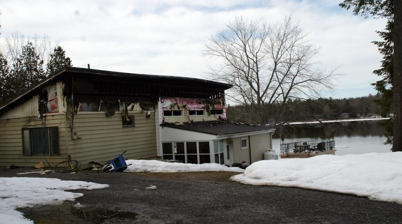 This home was destroyed March 30 after a fire started during kitchen renovations. Photo by Jake Davies