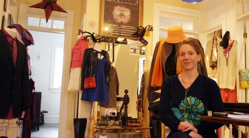Bee You boutique owner Jess Vaillaincourt recently celebrated the stores first anniversary. Photo by Jake Davies
