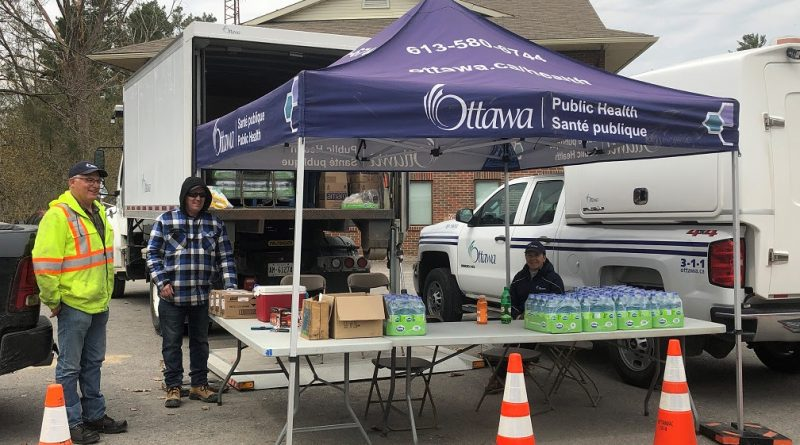 The city's commodities filling station has become a part of the community in Constance Bay. Courtesy City of Ottawa