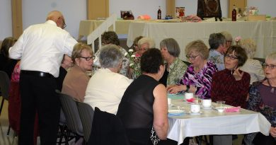 More than 180 women came out to the Bethel-St. Andrews Untied Church Fashion Show and Silent Auction held last night (May 8). Photo by Jake Davies
