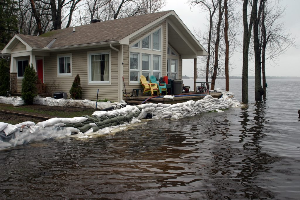 Meanwhile, homes in Willola Beach looked like this on May 10. Photo by Jake Davies