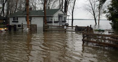 Special flood advisor Doug McNeil says human error did not play a role in last spring's flooding. Photo by Jake Davies