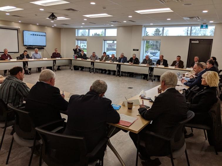 Flood task force's first meet