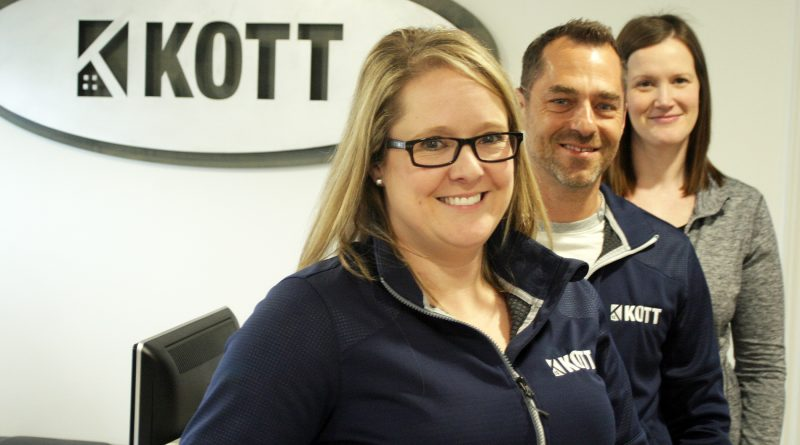 From left, sales associate Julie Gauvin, site manager Chris McGregor and sales associate Tiffany Burgess are ready to get your lanscaping project started. Photo by Jake Davies