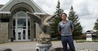 Eagle Creek director of operations Ryan Little is fired up to host Lght Up Dunrobin on Canada Day. Photo by Jake Davies