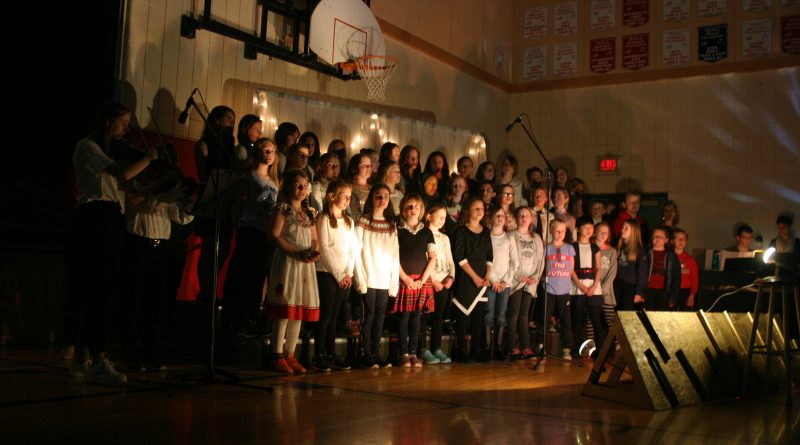 The One Children's Choir performs Glorious at the Stonecrest Elementary School 20th Anniversary celebration. Photo by Jake Davies